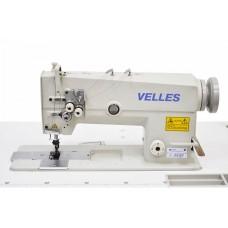 Промышленная двухигольная швейная машина челночного стежка VELLES VLD 2872 КОМПЛЕКТ