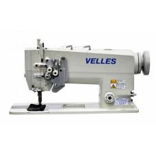 Промышленная двухигольная швейная машина челночного стежка VELLES VLD 2875 КОМПЛЕКТ