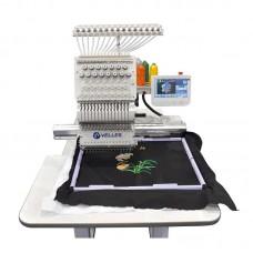Промышленная одноголовочная компактная вышивальная машина VELLES VE 25C-TS NEXT