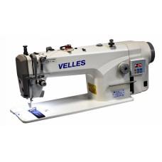 Промышленная одноигольная  швейная машина челночного стежка со встроенным серво-приводом VELLES VLS 1811DH (комплект)