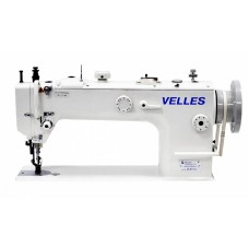 Промышленная одноигольная швейная машина челночного стежка VELLES VLS 1153 (комплект)