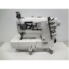 Промышленная плоскошовная швейная машина с плоской платформой Kansai Special NW-8803GD 7/32  (5,6 мм) голова
