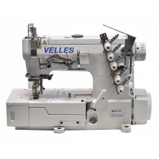 Промышленная плоскошовная швейная машина с плоской платформой VELLES VC 8016 UD (комплект)