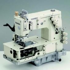 Промышленная швейная машина двухниточного цепного стежка Kansai Special DLR-1503PTF 1/4 голова