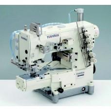 Промышленная швейная машина двухниточного цепного стежка Kansai Special RX-9701J-CD/UTC-A голова
