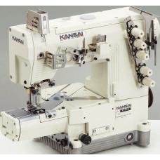 Промышленная швейная машина двухниточного цепного стежка Kansai Special RX-9701J голова
