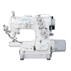Промышленная швейная машина Jack JK-8670BDI-01CB (6,4 мм) (комплект)