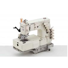 """Промышленная швейная машина Kansai Special DFB-1404P 1/4""""(6,4мм)"""