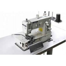 Швейная машина цепного стежка для изготовления шлевок с боковыми ножами обрезки JATI JT-2000С (комплект)