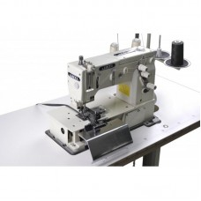 Швейная машина цепного стежка для изготовления шлевок с ножом нарезки шлевок JATI JT-2000С-DK голова