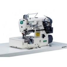 Трехигольная, пятиниточная промышленная  машина ZOJE ZJ2539A-156S-1-VF-BD