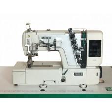 ZOJE C5000-364/02 3-игольная 5-ниточная плоскошовная машина цепного стежка