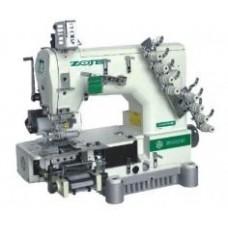 ZOJE ZJ1414-100-403-601-603-04095(085) Четырехигольная плоскошовная швейная машина цепного стежка