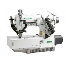ZOJE ZJ2500A-156(164)M-VF-BD Трехигольная пятиниточная плоскошовная швейная машина
