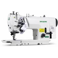 ZOJE ZJ2845A-5-BD-3/02 - Двухигольная швейная машина челночного стежка